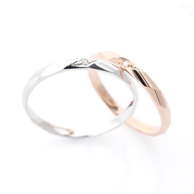 14K/18K 카누르 다이아몬드 커플링반지