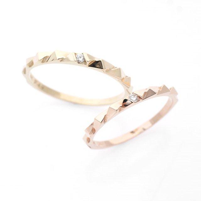 14K/18K 벨노아 다이아몬드 커플링반지